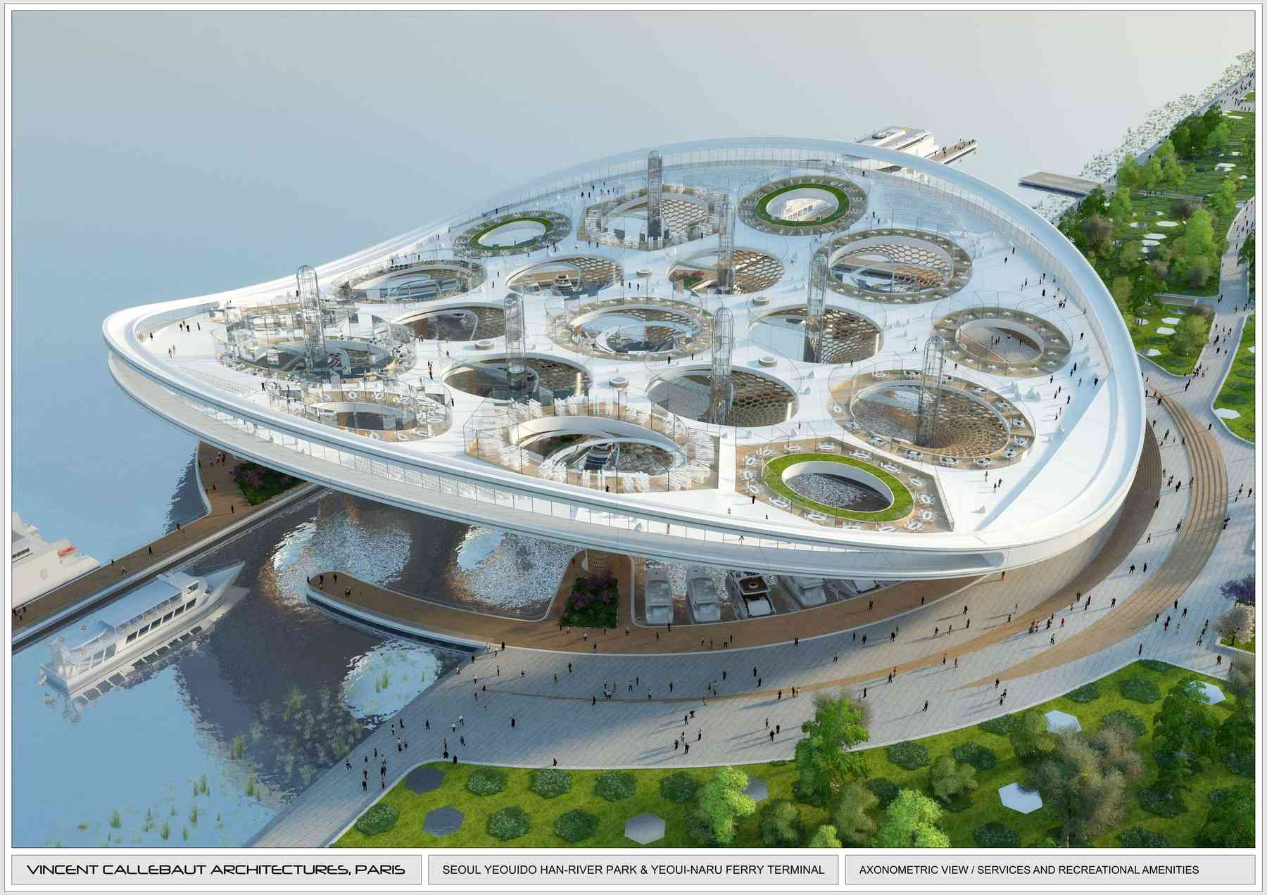 S oul l 39 architecte belge vincent callebaut installe ses for Architecture biomimetique