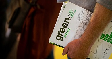 Un salon au programme : Green