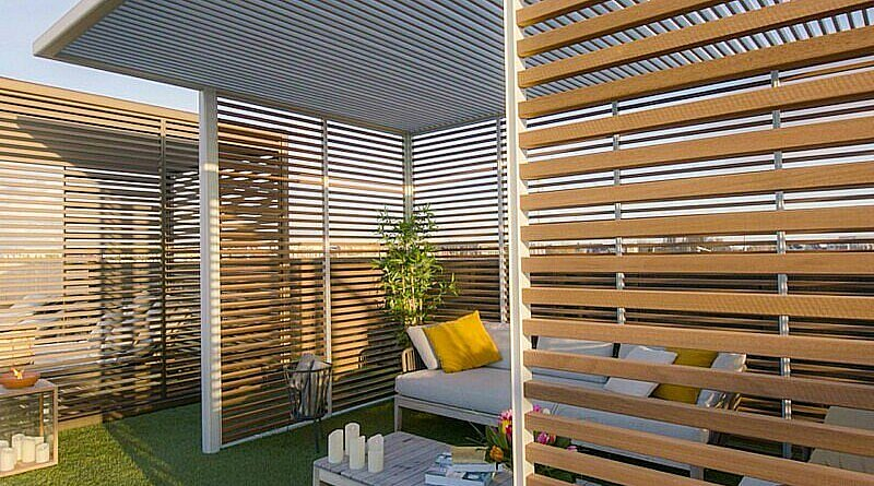 CG Concept: Aluvision Outdoor Living - Pure Outdoor Unit